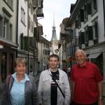 Рядом со мной Урс и Элизабет - родители Мартина