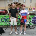 Болгарин Чавдар Костадинов приехал из Англии на мотоцикле, купил за 50 евро старый велосипед и тоже участвует в гонке