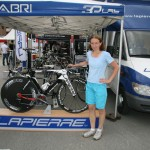 Выставка в велодеревне в Вальфрежусе