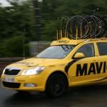 Технички Mavic сопровождают гонку