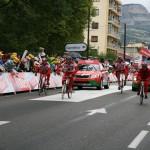 На финиш этапа Тур де Франса едет рекламный караван