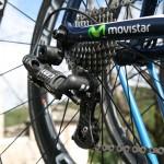 Команда Movistar испытывает новые переключатели Campagnolo Electro