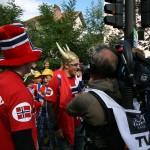 Норвежские болельщики всегда в центре внимания прессы