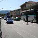 Италия, Пинеролло - сюда тоже заехал Тур де Франс