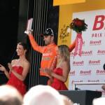 Лучший агрессивный гонщик этапа - Перез Морено