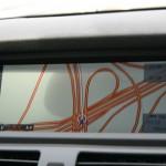 Сфотографировал навигатор, чтобы показать, что такое дорожная сеть Европы