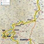 Карта второй гонки